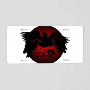 Raven Art Native Spirit Ani Aluminum License Plate