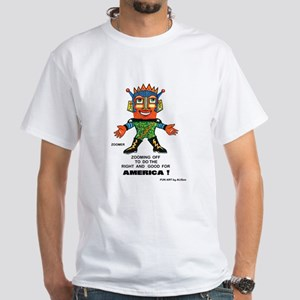 Zoomer for America White T-Shirt