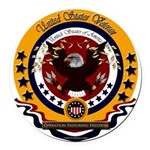 Operation Enduring Freedom Round Car Magnet