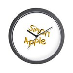 Wall Clock (Yellow Logo)