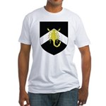 al-Barran populace Fitted T-Shirt
