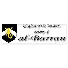 al-Barran populace Bumper Sticker