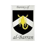 al-Barran populace Rectangle Magnet (100 pack)