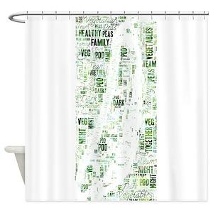 Veg Shower Curtains
