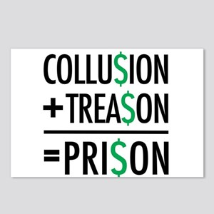 Collusion, Treason, Priso Postcards (Package of 8)