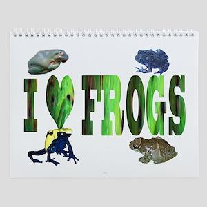 frog Wall Calendar