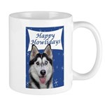 Husky Holiday Mug