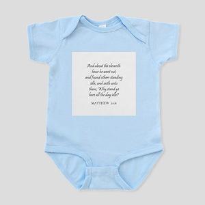 MATTHEW  20:6 Infant Creeper