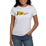 Jguitar.com Women's 2-Sided T-Shirt (white)