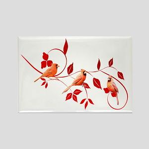 Cardinals Rectangle Magnet