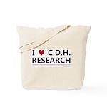 I Love C.D.H. Research Tote Bag