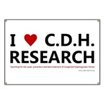 I Love C.D.H. Research Banner