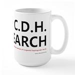 I Love C.D.H. Research Large Mug