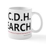 I Love C.D.H. Research Mug