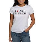 I Love C.D.H. Research Women's T-Shirt