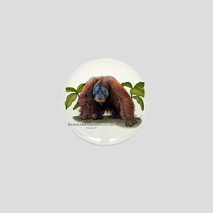 Sumatran Orangutan Mini Button