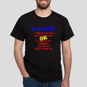 WORK/JOB HUMOR Dark T-Shirt
