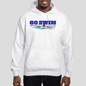 Go Swim Hooded Sweatshirt