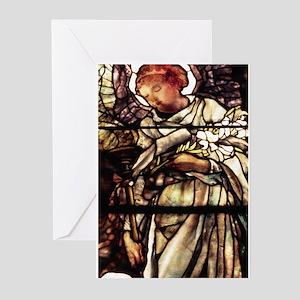 Blank Tiffany Angel Greeting Cards (Pk of 10)