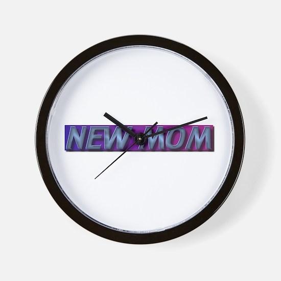 New mom gift Wall Clock