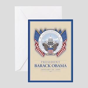 Obama Inauguration Greeting Card