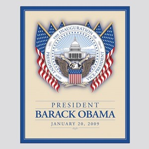 Obama Inauguration Small Poster