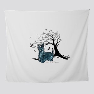 tree two png Wall Tapestry
