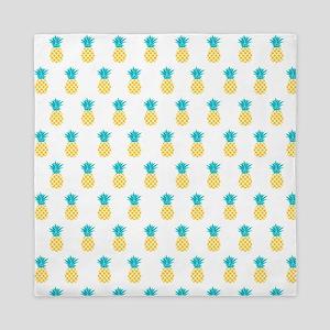 Cute Pineapples Pattern Queen Duvet