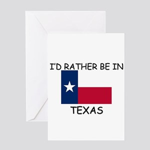 Womens texas greeting cards cafepress id rather be in texas greeting card m4hsunfo
