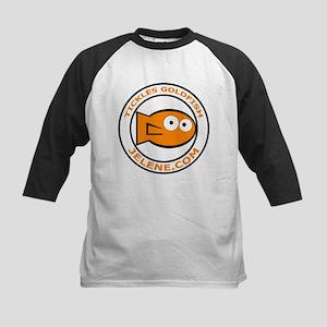 Tickles Goldfish logo Kids Baseball Jersey