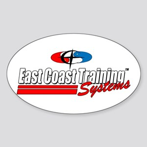 East Coast Training Systems Oval Sticker