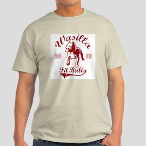 Wasilla Pit Bulls Light T-Shirt