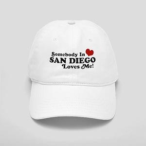 Somebody In San Diego Loves Me Cap