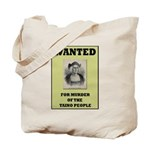 Columbus a Murderer Tote Bag