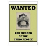 Columbus a Murderer Large Poster