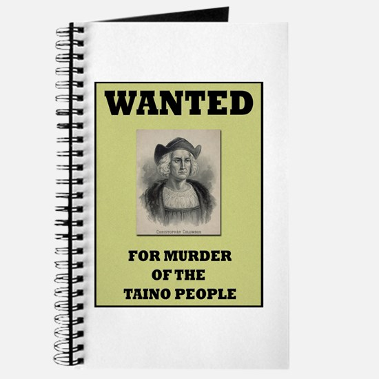 Columbus a Murderer Journal