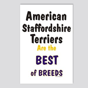 American Staffordshire Best Postcards (Package of