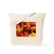 Thanksgiving Autmn Leaves Tote Bag