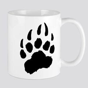 BLACK Bear Paw Mug