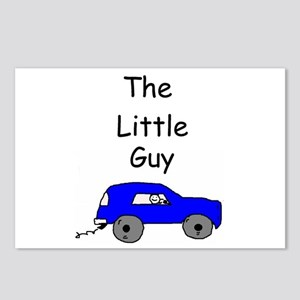The Little Guy Postcards (Package of 8)