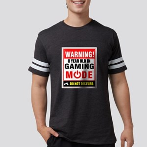 8 Year Old in Gaming Mode Funny Gamer Desi T-Shirt