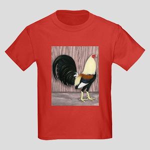 Grey Gamecock Kids Dark T-Shirt