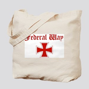 Federal Way (iron cross) Tote Bag