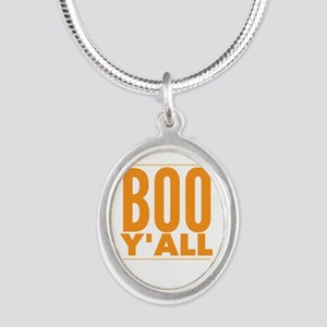 Boo Y'all Funny Halloween Texas Sout Necklaces