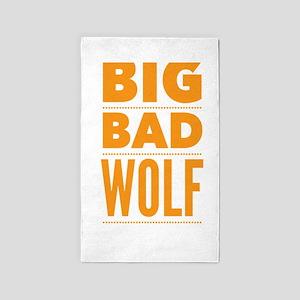 Big Bad Wolf Halloween Idea Area Rug