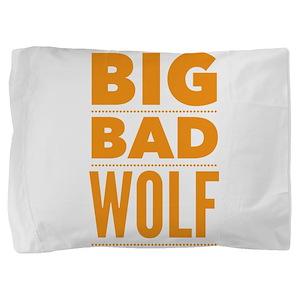 Big Bad Wolf Halloween Idea Pillow Sham