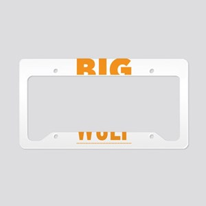 Big Bad Wolf Halloween Idea License Plate Holder