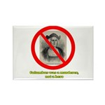 Columbus Not a Hero Rectangle Magnet (100 pack)