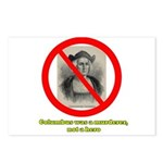 Columbus Not a Hero Postcards (Package of 8)