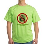 Columbus Not a Hero Green T-Shirt